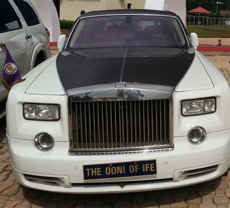roll royce nigeria ooni of ife s last photo alive oba sijuwade rides rolls
