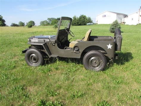1952 Jeep Willys 1952 Jeep Willys For Sale