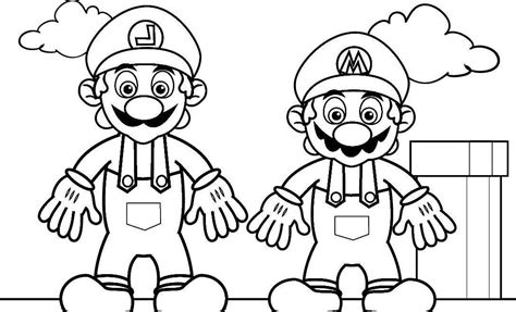 mario coloring pages for adults free kids coloring pages mario coloring home