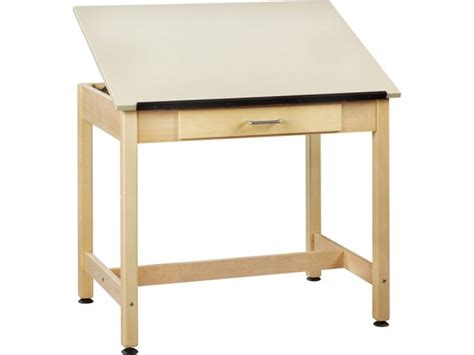 Drafting Table With Drawers Drawing Table 1 Top Large Drawer 30 Quot Drafting Tables