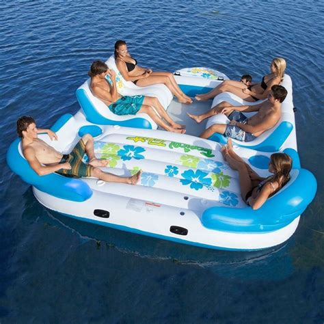 floating boat island 17 best ideas about inflatable island on pinterest pool