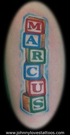 alphabet blocks tattoo alphabet blocks name tattoo by john garancheski iii