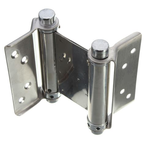 double swing door hinges 2pcs 3 inch double action spring hinge saloon cafe door