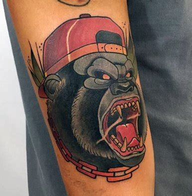 traditional gorilla tattoo 20 neo traditional gorilla designs for ape