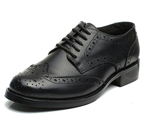 black oxford shoes womens u lite uliteoxford003 black 8 5 u lite black brogues