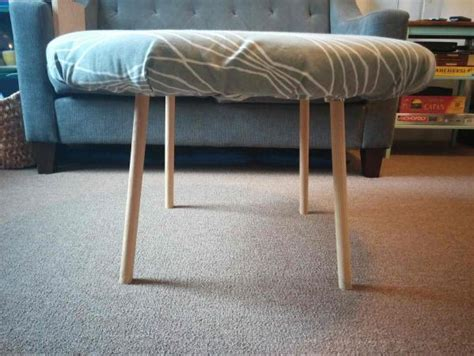 do it yourself ottoman attaching coffee ottoman legs doityourself com