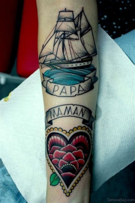 papa tattoo 62 lovable wording tattoos for wrist
