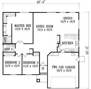 3 Bedroom 2 Bath 2 Car Garage Floor Plans 1694 square 3 bedrooms 2 batrooms 2 parking space