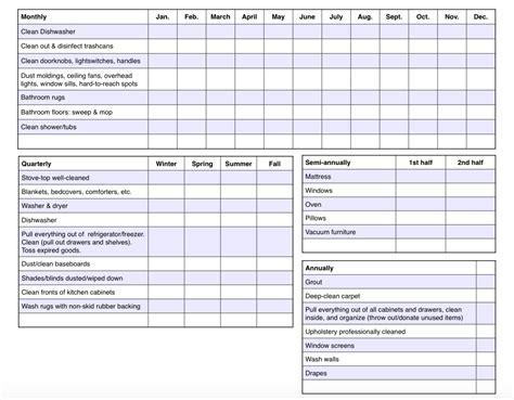 printable calendar checklist free printable cleaning calendar and checklist the