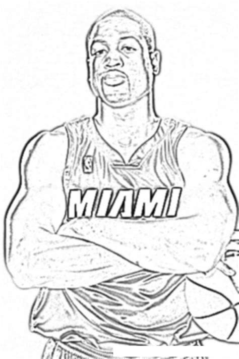 nba coloring pages lebron james free coloring pages of james miami heat