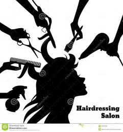 salon concept stock vector image of elements