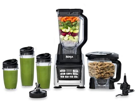 blender bed bath and beyond bed bath beyond nutri ninja 174 blender system with auto