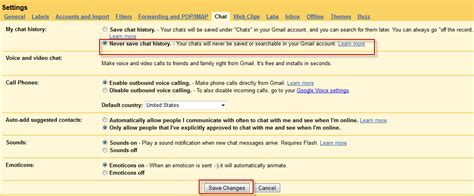 gmail chat themes how can i hide chat history from my gmail inbox web