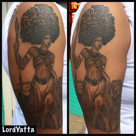 African Queen Tattoo Ideas | 15 african queen tattoo designs and pictures