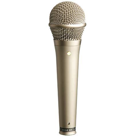 condenser microphone rode s1 condenser microphone at gear4music