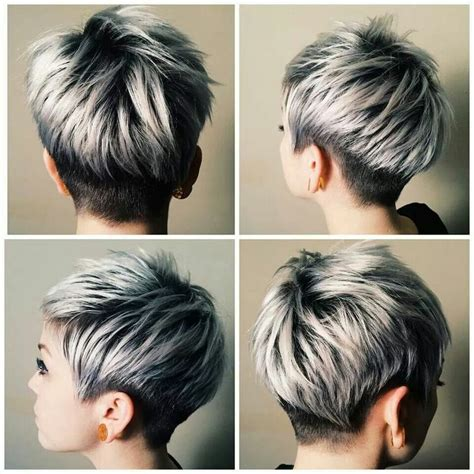 hairstyles for over 70 with cowlick at nape 32 stylish pixie haircuts for short hair dunkel pixie