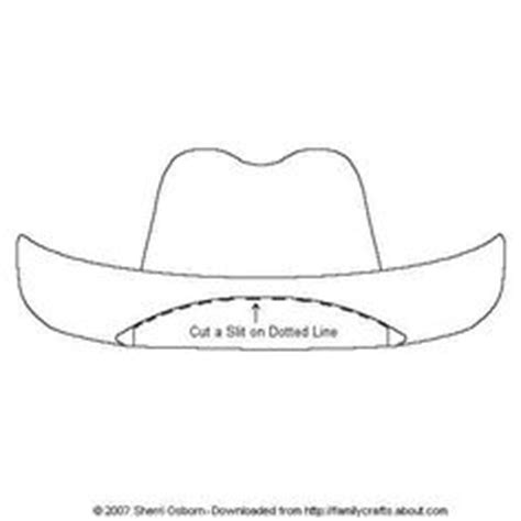 paper cowboy hat template 1000 images about cowboy c on cowboy