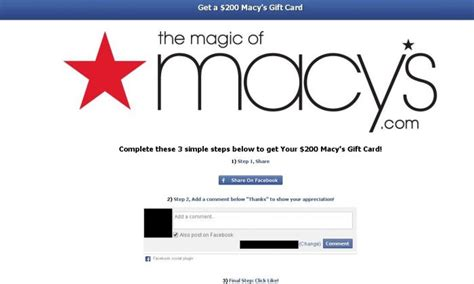 Macys Gift Card Fraud - macy s scam free 200 gift card is facebook is fake don t click it the epoch times