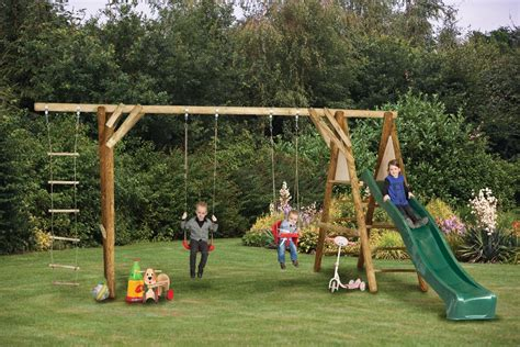 swing sets uk antoine garden swing and climbing set