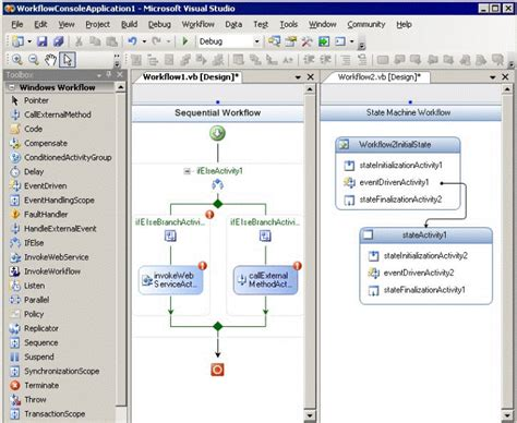 workflow visual studio integrating workflows into access 2007 applications