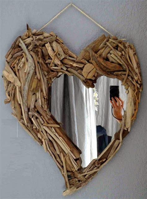cuadros con espejos 50 marcos de espejos hechos con materiales reciclados