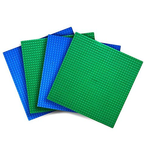 Lego Nano Block Base Plate 10 X 10 Kode Tr5730 4 lego base plates 10 x 10 building set 4 green blue building block baseplates ebay