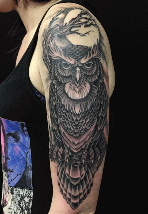 71 best owl tattoos that you will fall in love with owl
