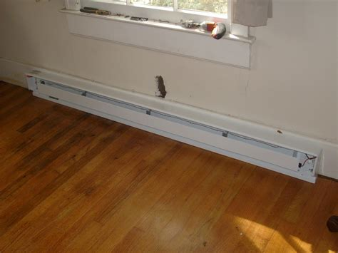 adding a thermostat to an electric baseboard heater help me fix it installing a baseboard heater and remote