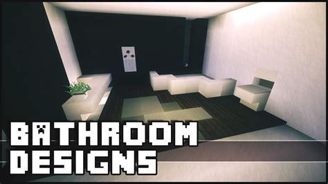 minecraft bathroom designs ideas youtube