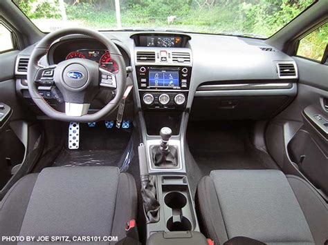 subaru impreza wrx sti interior 2017 subaru wrx and sti interior photo research page
