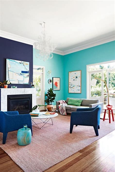 accent wall colours 2016 two colour combination for living room walls