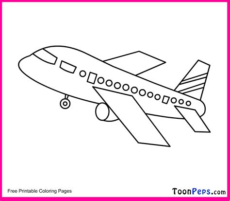 airplane coloring pages for toddlers free coloring pages of blue airplane