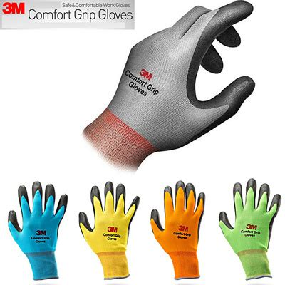 comfort grip gloves qoo10 25 pairs 3m comfort grip work gloves safety