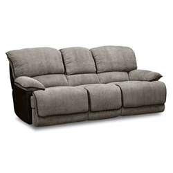 putnam steel dual reclining sofa furniture com