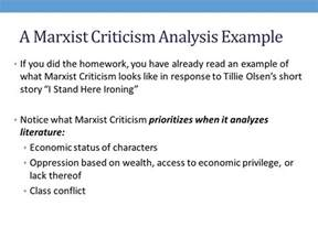 Marx Conflict Theory Essay by What Is Marxist Criticism Ppt