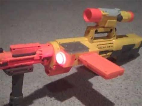 nerf deploy frankenstein gun mod tactical sniper w