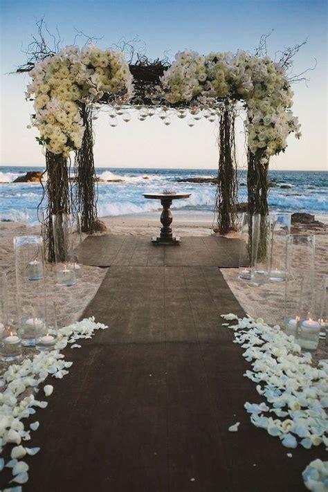 idees de decoration pour  mariage au bord de la mer