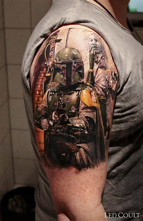 boba fett tattoo designs 50 amazing wars designs tattooblend