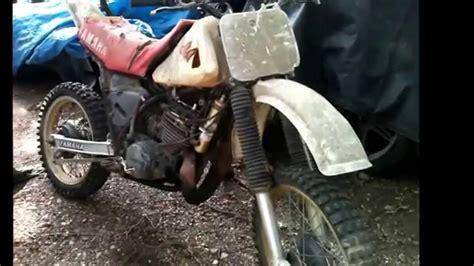 vintage yamaha motocross bikes vintage yamaha yz 490 dirt bike summer barn find