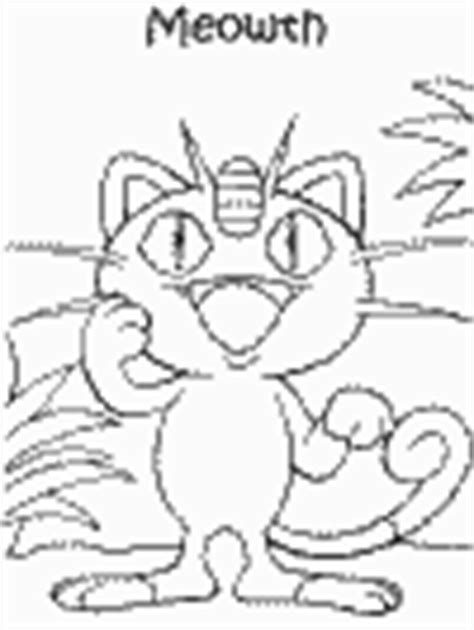 pokemon coloring pages dltk pokemon team rocket
