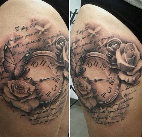 time clock tattoos best 25 clock tattoos ideas on time