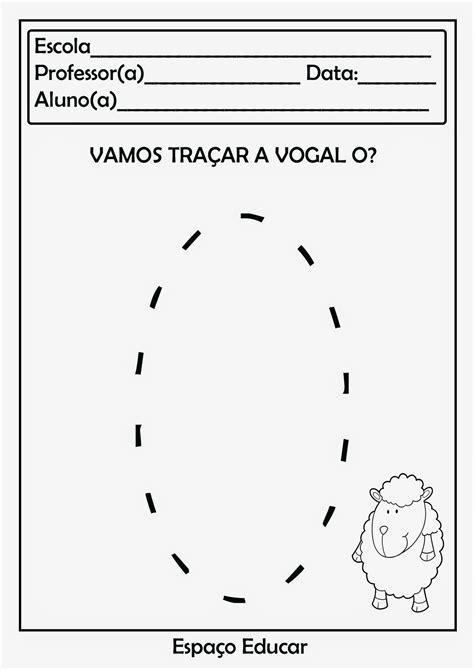 ESPAÇO EDUCAR: 28 Atividades com vogais prontinhas para