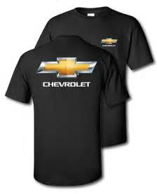 chevrolet bowtie black t shirt chevymall