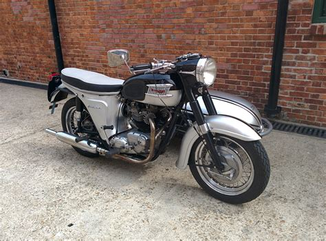 triumph thunderbird sold motion motorcycle