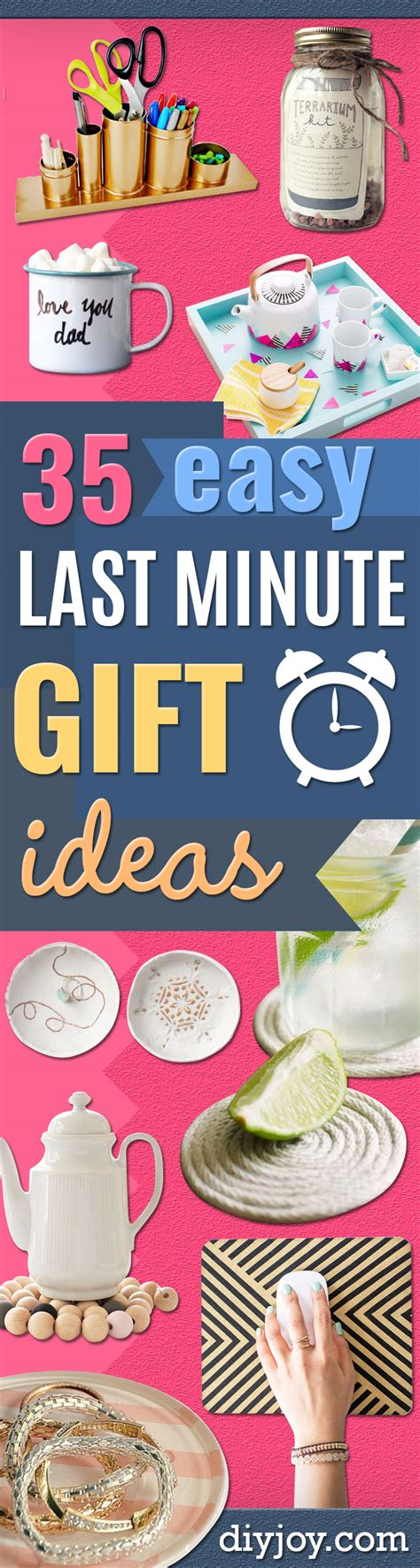 last minute gift ideas 35 awesome last minute diy gift ideas diy