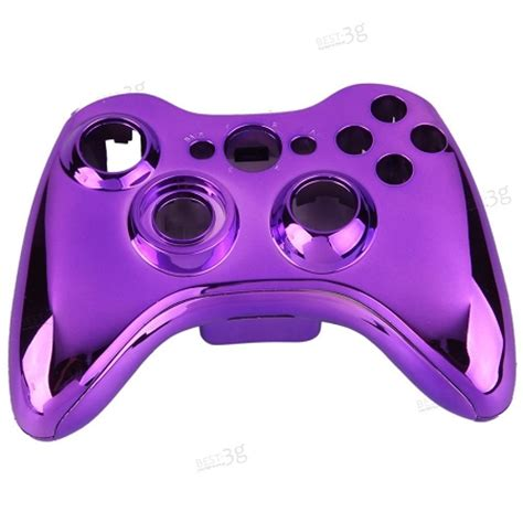 chrome xbox 360 controller chrome purple controller shell for xbox 360 wireless