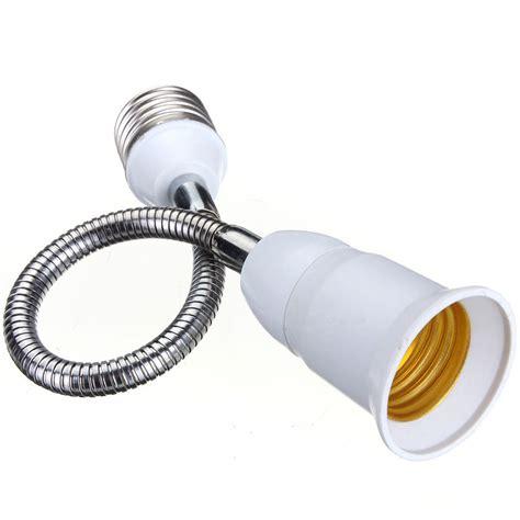 E27 Led Light Bulb L Holder Flexible Extension Adapter Led Light Holder