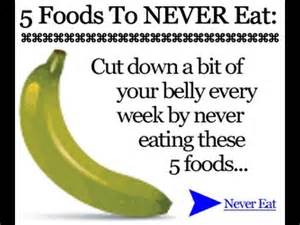 7 foods to never eat:bad foods to eat youtube