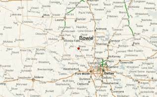 bowie texas map bowie texas location guide