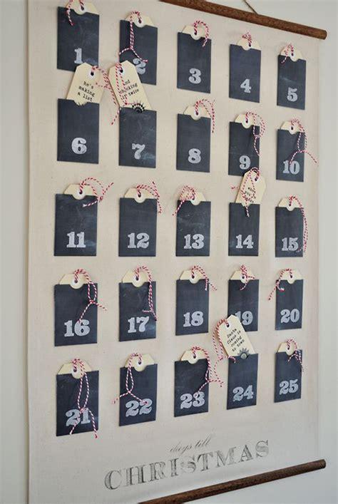 Calendar Decoration by 25 Beautiful Advent Calendar Ideas Home Design